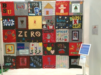 Aids Quilt Fall 2014