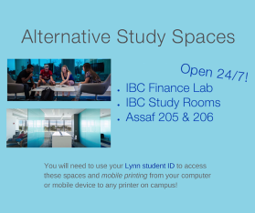 Alternative Study Spaces facebook