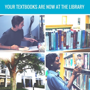 Checkout any required textbook for up to 3 hours
